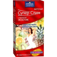 FITERA Супер Слим Экзотик 30 пак. (Россия)