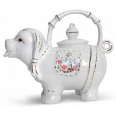 Hyton Хайтон Леди 80г. чёрный чай в Фарфоровом чайнике 1100мл. (Шри-Ланка)