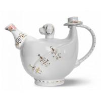 Hyton Хайтон Холли 80г. чёрный чай в Фарфоровом чайнике 700мл. (Шри-Ланка)