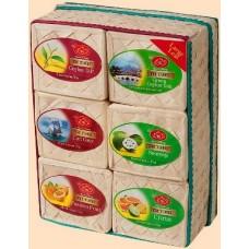Ти Тэнг чёрный и зелёный чай Набор из 6 видов по 50г. (Шри Ланка)