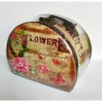 Gvendelin (Гвенделин) Кейс Розовая роза 100г. 16,5см.* 12,5см.* 10,5см. (Шри-Ланка)