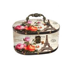 Gvendelin Саквояж Париж 150г. чёрный 19см.*13см.*10см. (Шри Ланка)