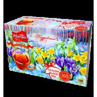 Margo tea Подснежники 100пак. по 2г. чёрный (Шри-Ланка)