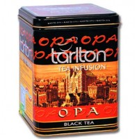 Tarlton OPA 250г. чёрный крупнолистовой ОПА (Шри-Ланка)
