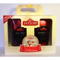 Hyson Хайсон Рождество 100г. чёрный аромат + 100г. чёрный аромат (Шри-Ланка)