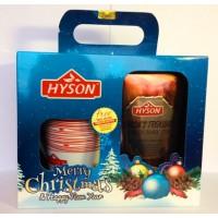 Hyson Хайсон Рождество 200г. чёрный чай с кружкой (Шри-Ланка)