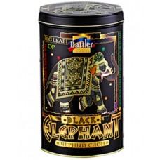 Battler tea Баттлер Чёрный слон 200г. чёрный чай крупный лист (Россия)