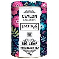 Impra Импра Крупный лист 70г. чёрный чай, ж/б. (Шри-Ланка)
