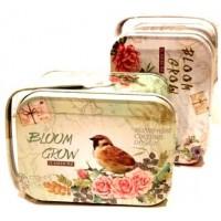 Gvendelin (Гвенделин) Блум Гроу чёрный чай c розой 50г. (Шри-Ланка)
