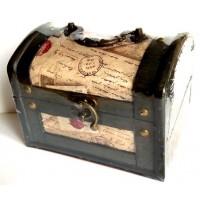 Gvendelin Гвенделин Письмо Сундучок 50г. чёрный чай 15см.*12см.*11,5см. (Шри Ланка)