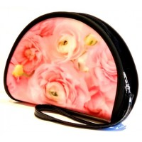 Gvendelin Гвенделин Косметичка Розовая Роза 50г. чёрный чай 18см.*13см.*6см. (Шри Ланка)