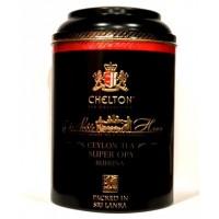 Chelton Челтон Благородный дом Рухуна 200г. чёрный пекое D:12см., В:19см. (Шри-Ланка)