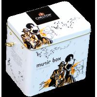 Chelton Челтон Музыкальная шкатулка Чай вдвоём 100г. чёрный чай Размер:12см.*13см.*9,5см.(Шри-Ланка)