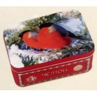 Chelton (Челтон) Шкатулка Снегири 50г. чёрный чай Размер: 14см.*10см.*6см. (Шри-Ланка)