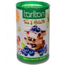 Tarlton Tea 4 Health 100г. зелёный Черничный Пирог  (Шри-Ланка)