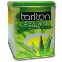 Tarlton Aloe Vera Green Tea 250г. зелёный с добавками (Шри-Ланка)