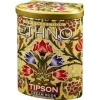 Tipson Типсон Этно Кремовые бутоны 100г. зелёный с добавками (Шри-Ланка)