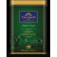 Thurson (Турсон) Зеленое Наследие 300г. зелёный крупнолистовой (Шри-Ланка)