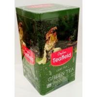 Teafield (Тифилд) Грин Ти 200г. зелёный крупнолистовой (Шри-Ланка)